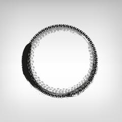Tire Track frame