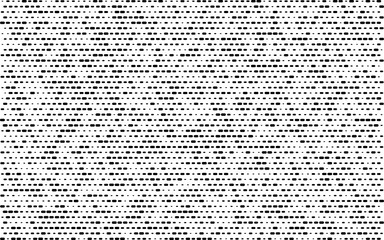 dotted line different sizes. abstract white background. halftone effect. vector illustration