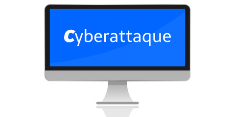 Moniteur Cyberattaque