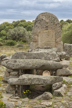 Megalithic Tomb of Giants in Sardinia