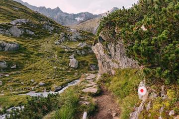 Stubaier Höhenweg durchs Stubaital, Österreich