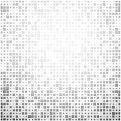 Gray geometric mosaic abstract background.