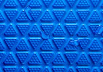 Surface texture of flooring soft foam