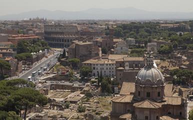 Rome Italy Plaza Venezia Mussolini palace