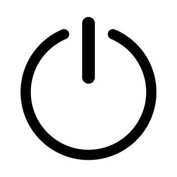 Symbol icon on or off icon.