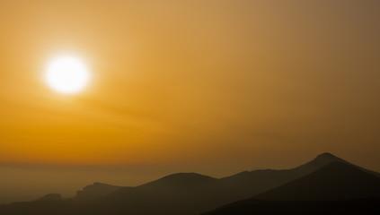 Campania Felix, tramonto