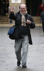 Lawyer Di Stefano arrives at Southwark Crown Court in London