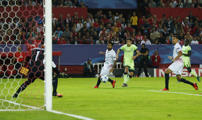 Sevilla v Manchester City - UEFA Champions League Group Stage - Group D