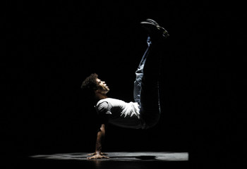 "Dancer Carlos Acosta of Cuba performs ""Finding Himself & Ghost of The Memory""  in London"