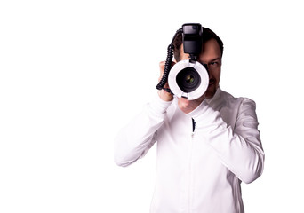 doctor with camera