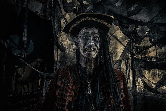zombie pirate man