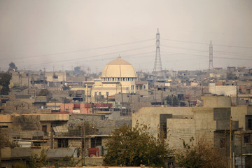 A general view of Mosul