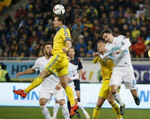 Ukraine v Slovenia - European Qualifiers - Play-off for Final Tournament - First leg