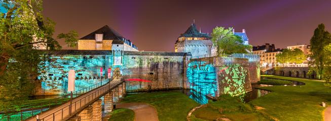 Chateau des ducs de Bretagne in Nantes, France Fotomurales