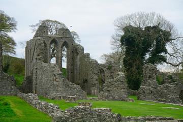 Monastery ruins, Inch, Northern Ireland