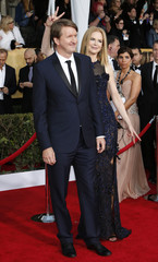 Actress Nicole Kidman and director Tom Hooper arrive at the 19th annual Screen Actors Guild Awards in Los Angeles