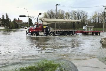 City Flood - Montreal - Canada