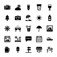 Summer and Travel Vector Icons 3