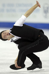 Patrick Chan of Canada competes in the men's short program of the ISU Four Continents Championships in Colorado Springs