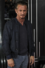 """Actor Sean Penn arrives at Warner Bros. Pictures' """"Gangster Squad"""" premiere at Grauman's Chinese Theatre in Hollywood, California"""