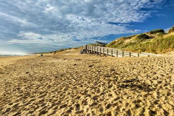 Sandy beach on Phillip Island, Victoria, Australia