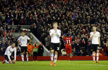 Liverpool v Manchester United - UEFA Europa League Round of 16 First Leg
