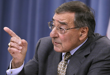 U.S. Secretary of Defense Leon Panetta speaks at a news conference at the Pentagon in Washington