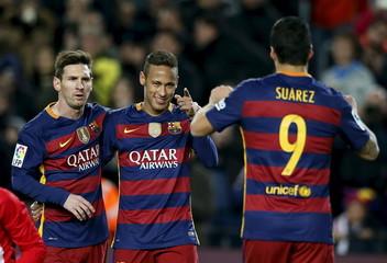 Football Soccer - Barcelona v Athletic Bilbao - Spanish Liga