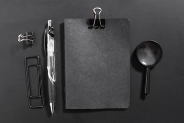 Blank stationery set. Corporate identity template