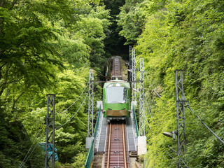 丹沢大山国定公園「大山ケーブル」