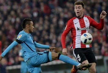 Football Soccer - Athletic Bilbao v Barcelona - Spain King's Cup- San Mames stadium, Bilbao