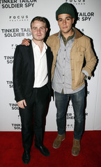 "Actors Brady Corbet and Christopher Abbott attend the premiere of the film ""Tinker Tailor Soldier Spy"" in New York"