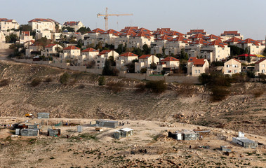 A general view shows the Israeli settlement of Maale Adumim in the occupied West Bank, near Jerusalem