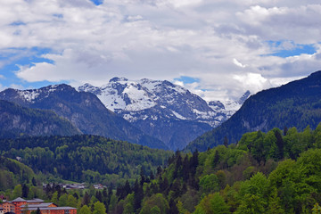 Alps seeing from Berchtesgaden, Bavaria, Germany