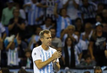 Great Britain v Argentina - Davis Cup Semi Final