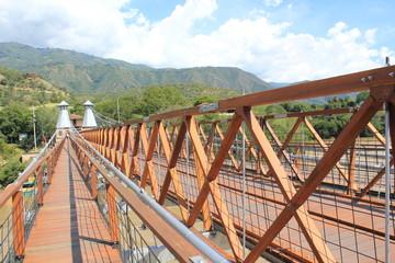 Puente de Occidente. Olaya y Santa Fe de Antioquia, Colombia.