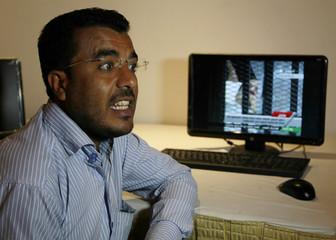 Editor-in-Chief of Al Yemen Aljadeed Almoshki  speaks in Sanaa