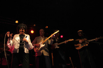 U.S. singer Wanda Jackson performs during the 17th Rockin' Race Jamboree International Festival in Torremolinos