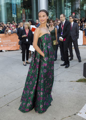 "Cast member Alicia Vikander arrives for the premiere of the film ""The Fifth Estate"" at the 38th Toronto International Film Festival in Toronto"