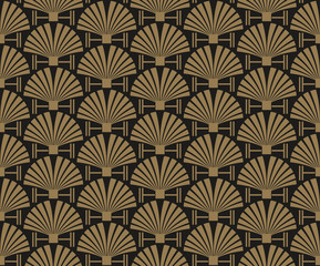 art deco, wallpaper pattern, vector