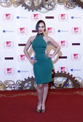 U.S. singer Alicia Key arrives for MTV European Music Awards 2012 in Frankfurt