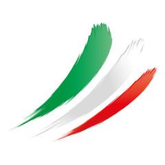 Fahne, Flagge von Italien, Länderkennung
