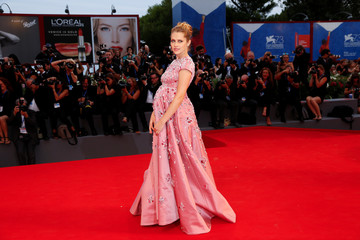 "Actress Teresa Palmer attends the red carpet for the movie ""Hacksaw Ridge"" at the 73rd Venice Film Festival in Venice"