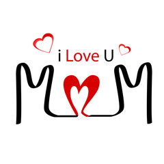 I love you, mom. Happy Mother's Day
