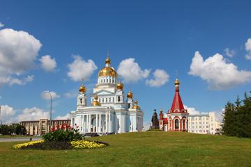 Russia. Mordovia. Saransk. The Cathedral of St Warrior Fedor Ushakov