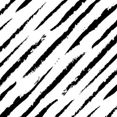 Abstract black scratched lines pattern