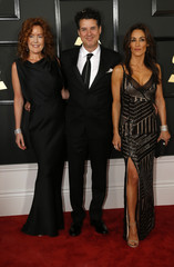 The Lincoln Trio arrives at the 59th Annual Grammy Awards in Los Angeles