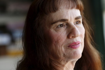 Uber driver Barbara Ann Berwick is seen at her home in San Francisco
