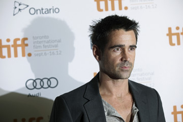"Actor Farrell poses at the gala presentation for the film ""Seven Psychopaths"" at the 37th Toronto International"