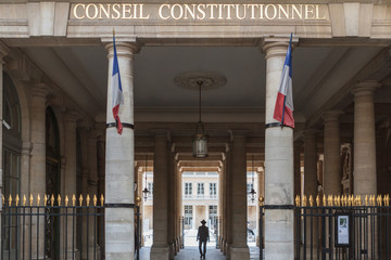 Paris - Le Conseil constitutionnel